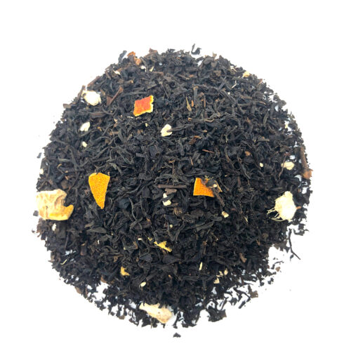 té negro con vahinilla