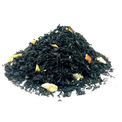 té negro con naranja