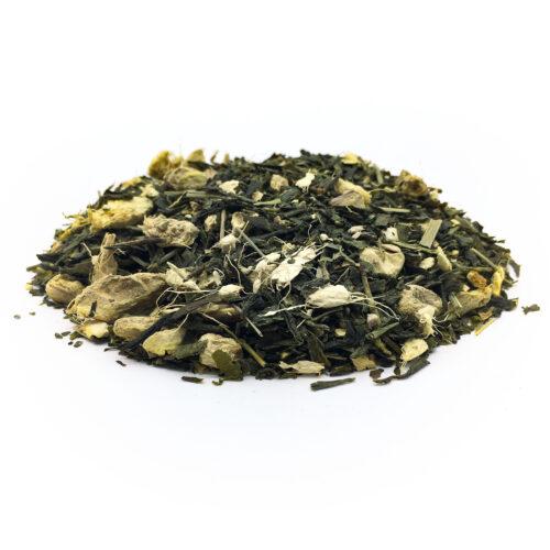 té verde al jengibre