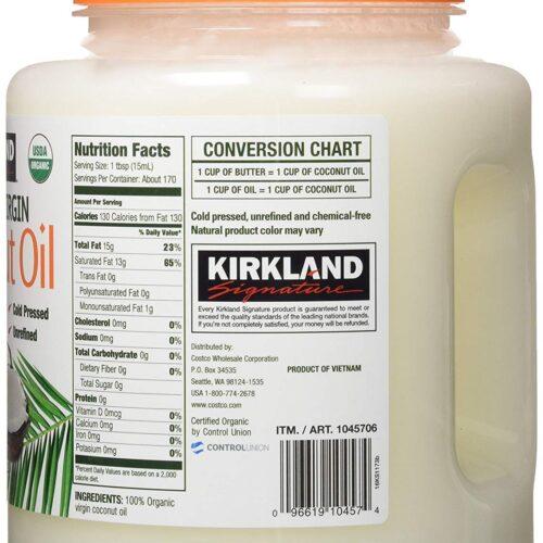 aceite de coco kirkland