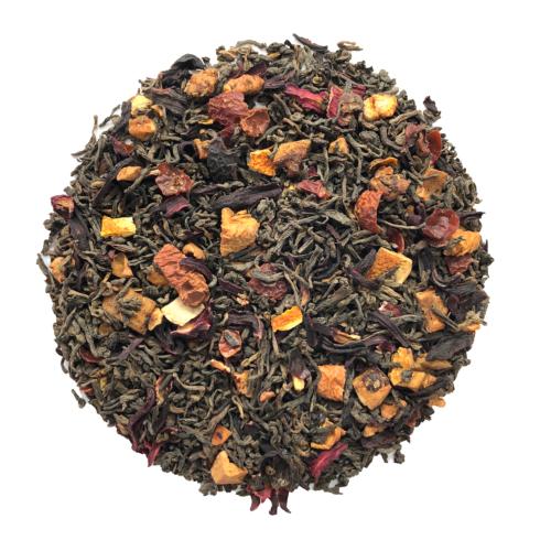 té con cerezas
